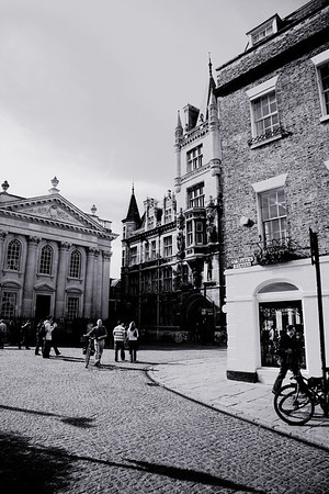 Cambridge (UK) - moments in the city