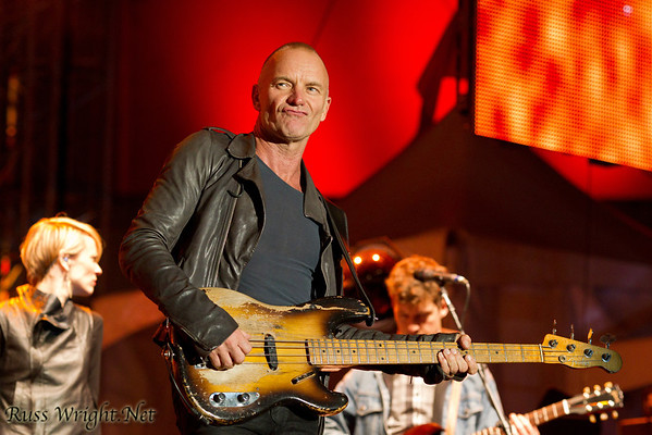 Sting @ Treasure Island October 2011