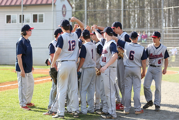 Western baseball beats Albemarle 2014