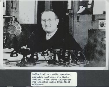 Jim Hash IPD Radio Operator