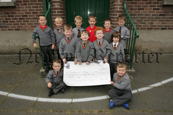 At the end of June 52 pupils from St Clares and St Colmans Nursery class along with 34 Primary 1 pupils from Abbey P.S. had a sponsored walk and collected £1260 for Friends of Africa. 07W37N12