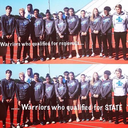Varsity Track Regionals