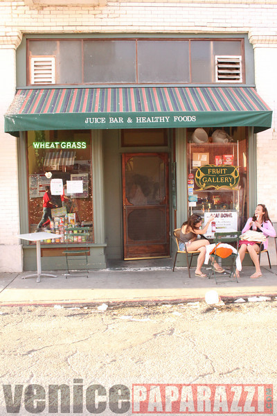 1.18.09  Fill the Food Bank.  Feed the Beach.  Venice For Change.  Alex  Rose.  Bill Rosendahl. Fruit Gallery. Phtoos by Venice Paparazzi.JPG