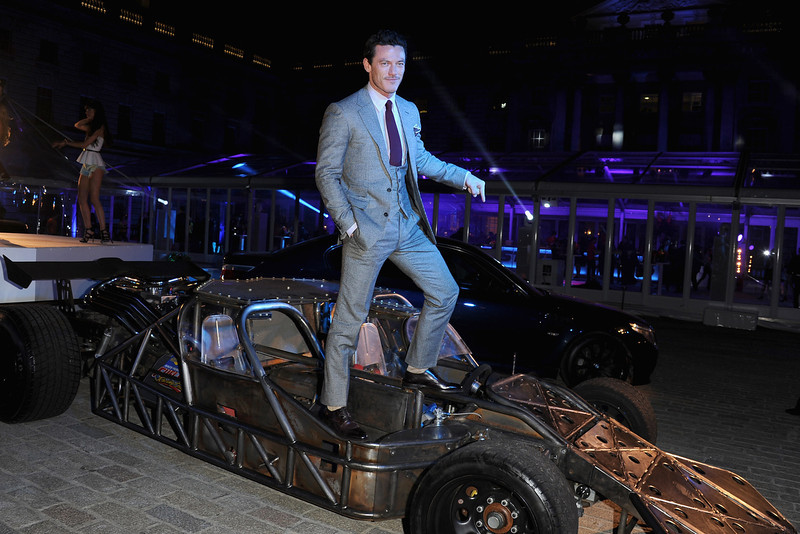 """. Actor Luke Evans attends the \""""Fast & Furious 6\"""" World Premiere after party at Somerset House on May 7, 2013 in London, England.  (Photo by Stuart C. Wilson/Getty Images for Universal Pictures)"""