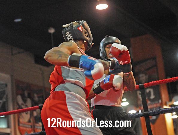 Jahmalh Bradley (Cleveland B.C.) vs Michael Lewis (Downtown B.C.)  178 Pound-Sub-Novice  Bout # 14