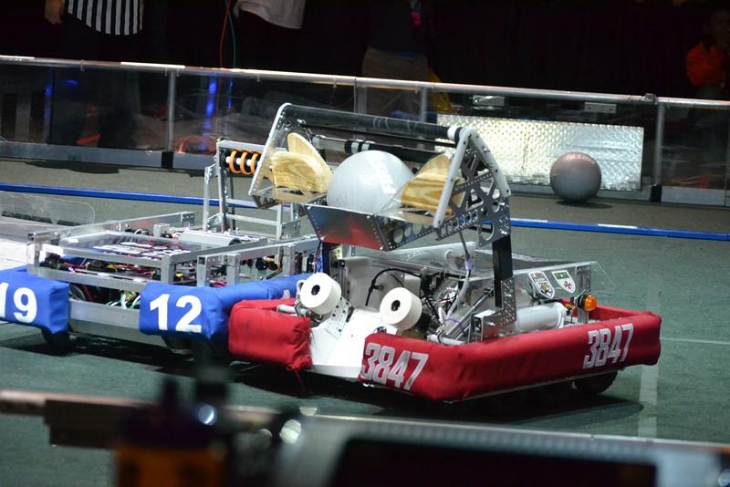 2016 First Bayou Regional Robotics Competition - Bouvier - 332