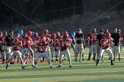 Monte Vista Freshmen vs Foothill - 20 Sept 2012