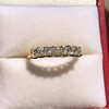 1.17ctw French Cut Diamond 7-Stone Band 14