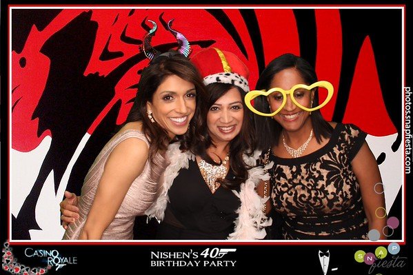 Nishen's 40th birthday party! Casino Royale 040