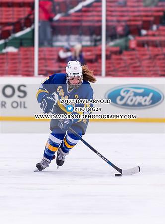 1/9/2017 - Girls Varsity Hockey - Frozen Fenway - Acton-Boxboro vs Westford Academy