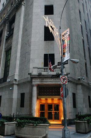 Wall Street on Christmas
