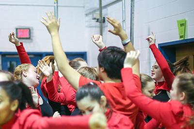 WP Dance 13 Fan @ Basketball playoff