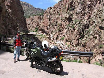 Jemez Mtns. - San Miguel Can.-Hwy. 126 AT Ride  6-21-07