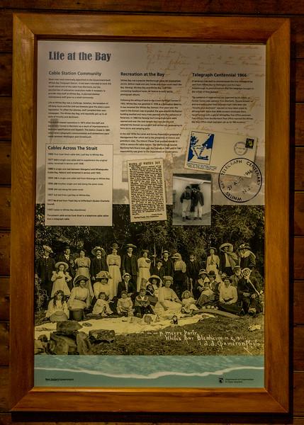 Das Telegrafenkabel von der Nord- zur Südinsel war am 27. August 1866 eine Sensation, aber heute schon seit langem hinfällig
