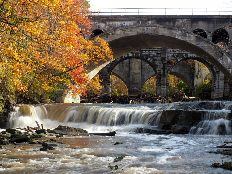 Berea Falls at Rocky River Reservation