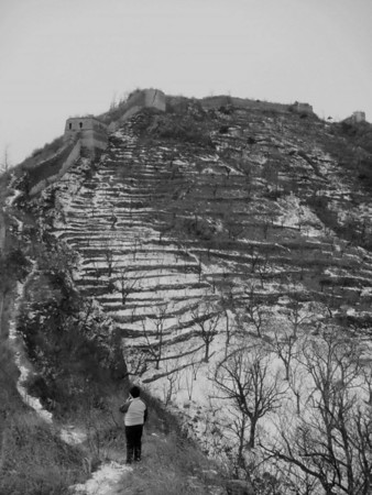 【winter】Zhuangdaokou Great Wall hiking