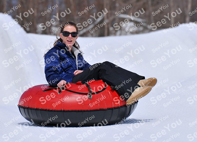 Snow Tubing 3-5-13 pm sessions