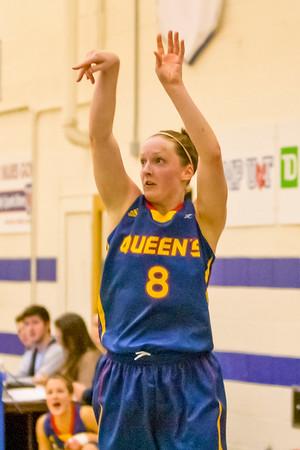 Women's Basketball - Queen's at Toronto 20120127