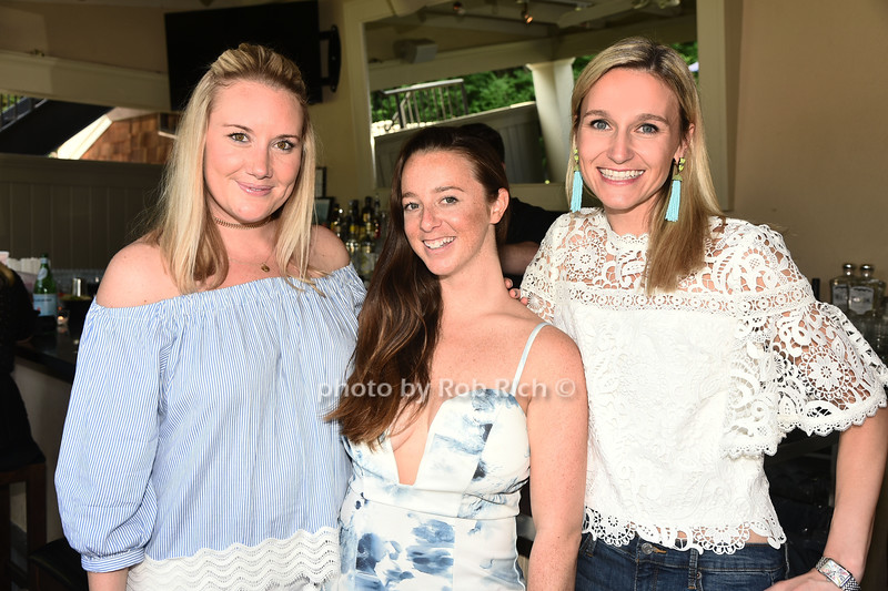 Lindsay Fullam, Molly Morton, and Cate Daly attend the Catwalk for Canines ethical & eco fashion show to benefit the Southampton Animal foundation at the Southampton Social Club in Southampton on Saturday, June 10, 2017.
