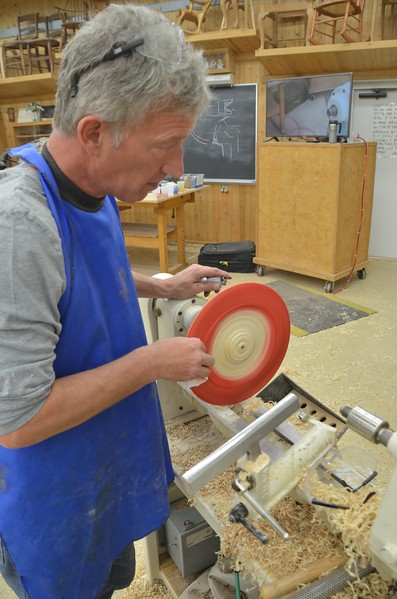Woodturning with Clewes [May '15]