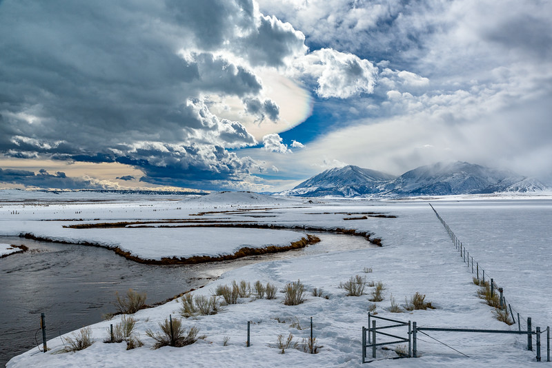 Owens River in Winter