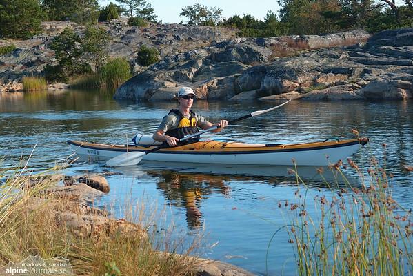 Runmarö Kayaking, Stockholm Archipelago 2011