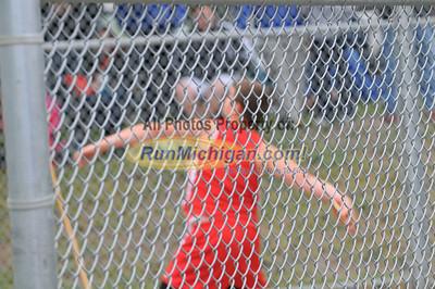 Boy's Discus - 2012 MHSAA LP D2 T&F Finals