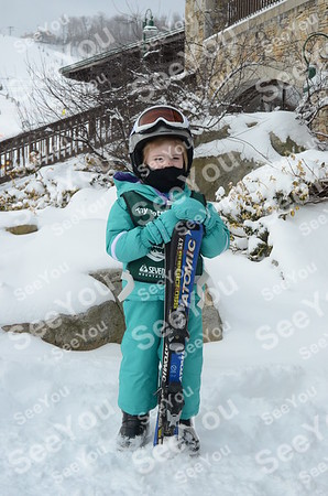 Tiny Tots Ski School 2-1-13
