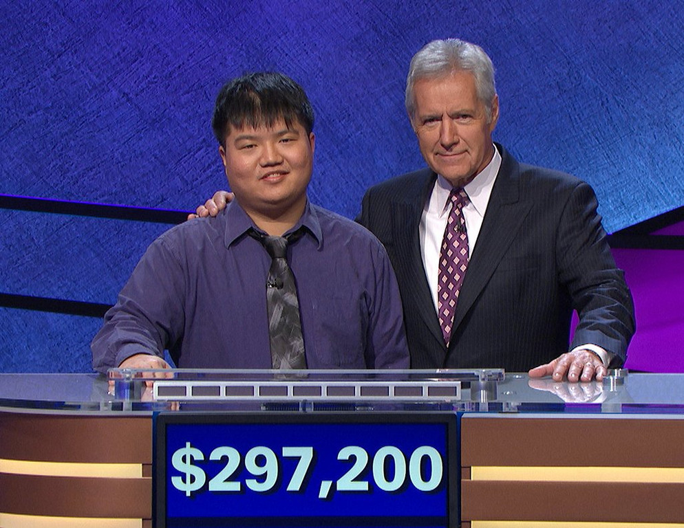 ". <p>10. (tie) ARTHUR CHU <p>�Who is Jeopardy�s most insufferable know-it-all?� (previous ranking: unranked) <p><b><a href=\' http://www.twincities.com/nation/ci_25332235/jeopardy-champ-chu-ousted-after-12-day-run?source=rss\' target=""_blank\""> HUH?</a></b> <p>    (AP Photo/Jeopardy Productions, Inc.)"