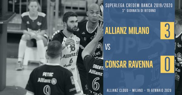 3^ Rit: Allianz Milano - Consar Ravenna