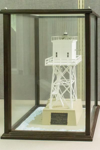 Sandusky Peirhead Range Light - 1926, Model built 1997