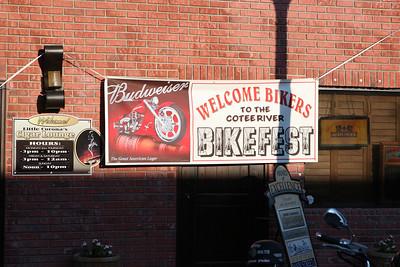 COTTEE RIVER BIKE FEAST OCTOBER 10, 2009