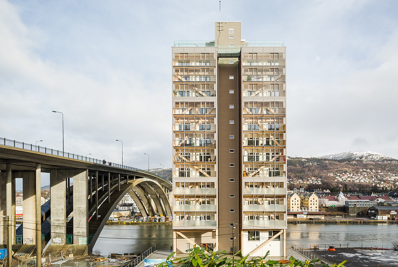 World's tallest timber building, Bergen