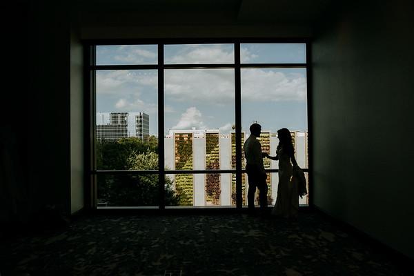 Christina and Jeremy got married!