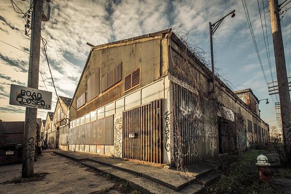 Abandonned Detroit - Packard Car  Plant