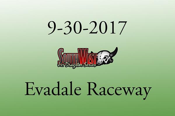 9-30-2017 Evadale Raceway 'Southwest Jr. Dragsters'