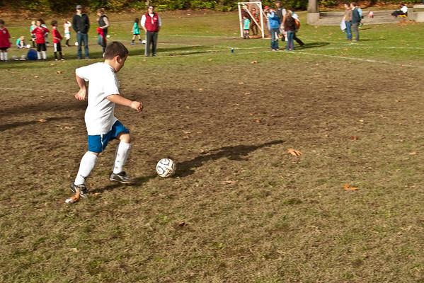 Andrew's Soccer Game - 10/31/09