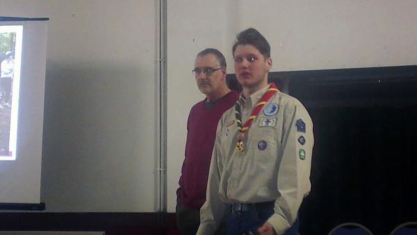 2014-02-12 Queen's Scout Presentation