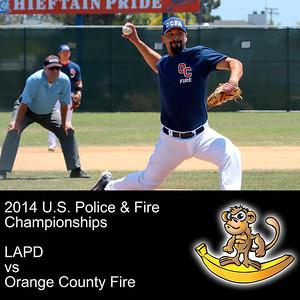 LAPD vs Orange County Fire