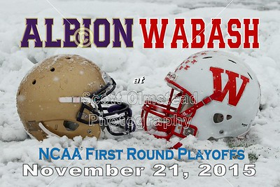 2015 Albion at Wabash (11-21-15) NCAA Playoffs
