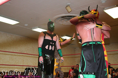 CHIKARA 081116 - The Fabulous Two vs The UnStable vs The Colony vs Incoherence