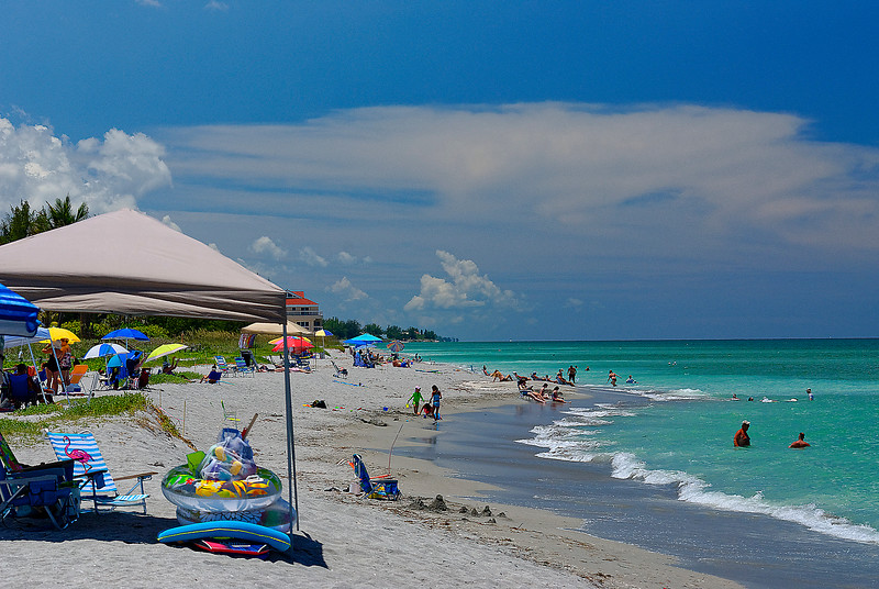 Storms to The South - Siesta Key Florida