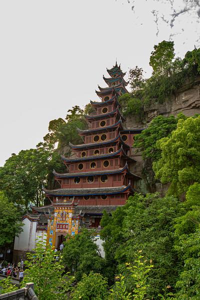 Shibaizhai Pagoda
