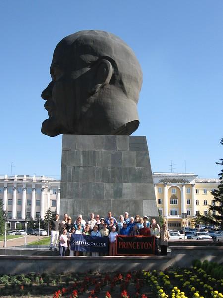 Lenin's head in Ulan Ude - Leslie Rowley