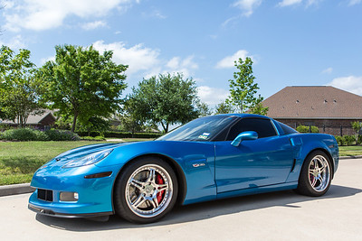 2008 Chevrolet Corvette Z06 Blue