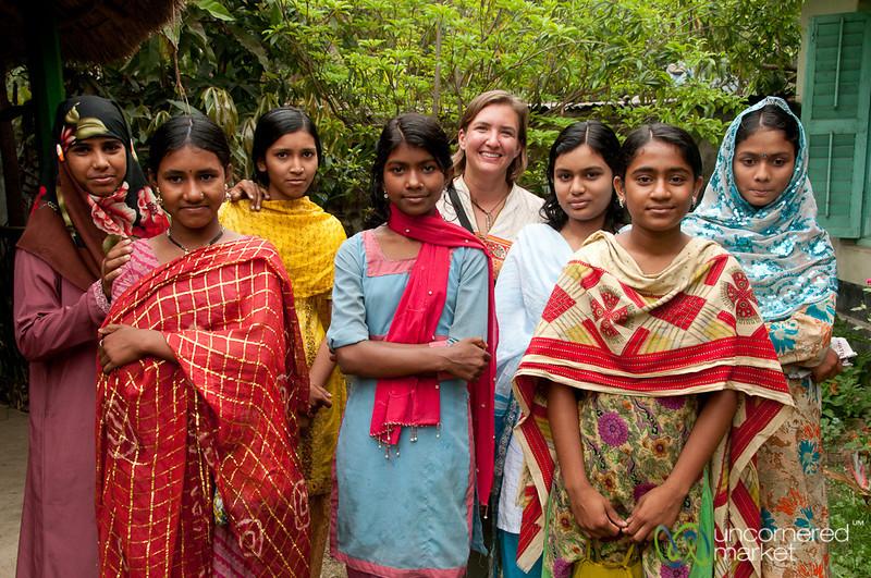 Young Women at NGO Office - Hatiandha, Bangladesh