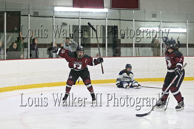 Hockey Playoffs Pingree at Portsmouth Abbey on 2/21/18