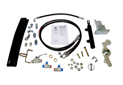 JCB 530 535 540 TELEPORTER SERIES FRONT QUICK HITCH CONVERSION KIT FROM MANUAL TO HYDRAULIC
