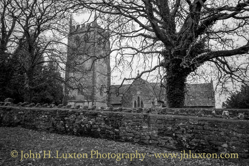 St Mary's Church, St Briavels, Gloucestershire - December 30, 2018