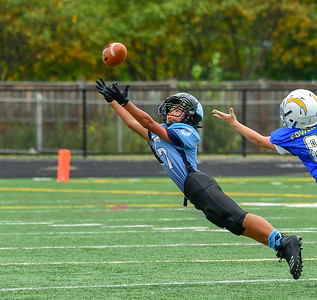 Youth Football: AYFL_A7_Panthers vs CLFYL_Chargers 09152018 (by Al Shipman)